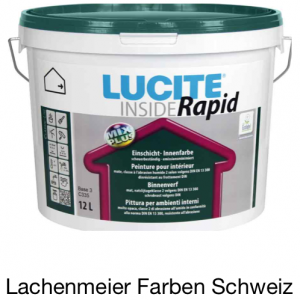Lucite Inside Rapid Innendispersion Weiss 12L / ca. 19kg