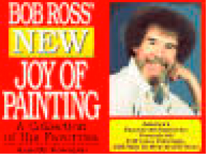 Bob Ross Oelmalen Instruktionen Buch Joy of Painting No 15