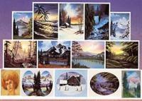 Bob Ross Oelmalen Instruktionen Buch Joy of Painting No 16