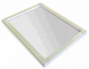 Siebdruck Rahmen Alu bespannt, für A3+ Gewebe 43T Aussen: 43x56cm Innen: 36x50cm bespannt