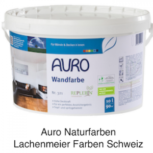 Naturfarben Auro 321 Naturharz Wandfarbe Weiss 5 Liter