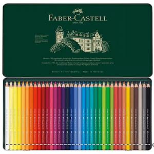 Faber-Castell Albrecht Dürer Künstler Aquarell Farbstift Set Metallschachtel 36