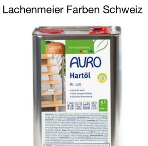 Auro Natural Paints 126 Hard oil