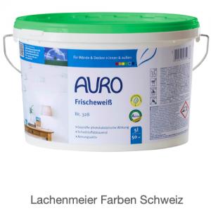 Naturfarben Auro 328 Frischeweiss Innenwand Kalkfarbe Weiss 13,6kg