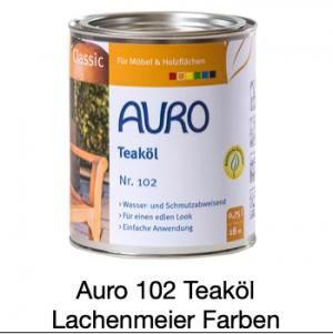 Naturfarben Auro 102-92 Gartenmöbel Öl Classic Natur