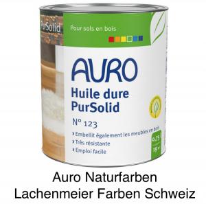 Naturfarben Auro 123 Holz Hartoel PurSolid farblos