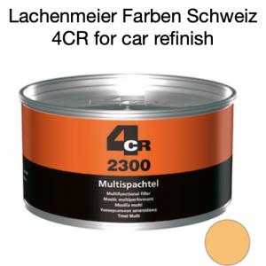 4CR 2300 Spachtel Polyester Multispachtel mit Haube