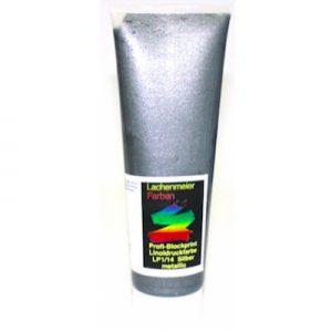 Profi-Blockprint Linoldruckfarbe LP1/14  Silber metallic