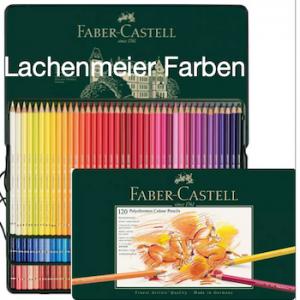 Faber-Castell Farbstift Künstler Polychromos Set 120er Metallschachtel