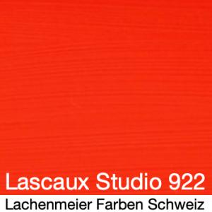 Lascaux Acryl Studio Original S11 922 Zinnoberrot
