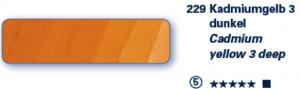Schmincke Ölfarben Mussini  Tube 35ml 229 S5 Kadmiumgelb 3 Dunkel