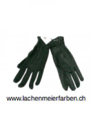 Fasnachts- Handschuhe Schwarz mit Noppen L