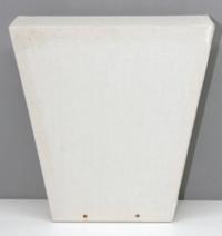 Laterne Kopflaterne gross Trapez ca 20x20cm