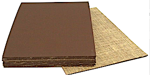 Linolplatten Dicke 3,2mm Braun A2 Pack 10 Stück ca. 42x60cm netto