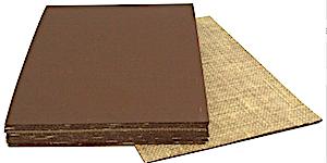 Linolplatten Dicke 3,2mm Braun A4 Pack 10 Platten ca. 21x29,7cm netto