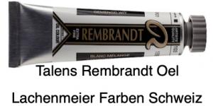 Talens Rembrandt Oelfarbe A 103 S1 Gemischtes Weiss