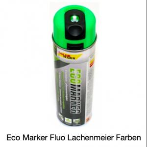 ColorMark EcoMarker Kreidespray Grün Fluo für kurzfristige Markierungen