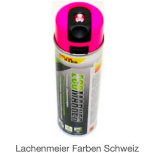 ColorMark EcoMarker Kreidespray Pink Fluo für kurzfristige Markierungen