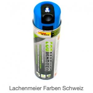 ColorMark EcoMarker Kreidespray Blau Fluo für kurzfristige Markierungen