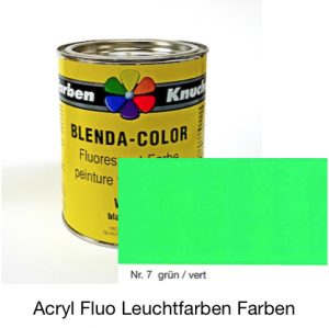 Blenda-Color Acryl Fluo WL-10 green UV reflective paint