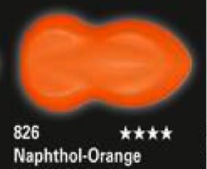 Schmincke Aerocolor Total Cover S18 826 Naphthol-Orange Airbrushfarbe WB deckend