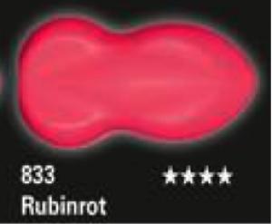 Schmincke Aerocolor Total Cover S18 833 Rubinrot Airbrushfarbe WB deckend