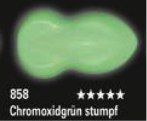 Schmincke Aerocolor Total Cover S18 858 Chromoxidgrün stumpf Airbrushfarbe WB deckend