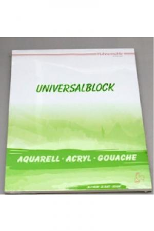 Hahnemühle Block Universalblock 310gr 36x48cm 25 Blatt, Mix Media für alle Farben