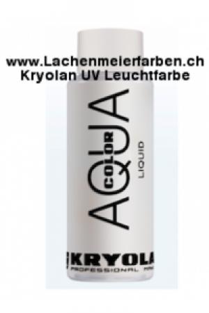 Kryolan Aquacolor Liquid 070 Weiss Schminke für Bodypainting und Fasnacht