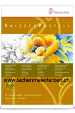 "Hahnemühle Block Skizzenblock Pastellblock ""100% Hadern"" 130gr A5 30 Blatt 14,8x21,0cm"
