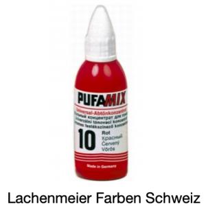 Pufamix 10 Rot Universalabtönpaste L