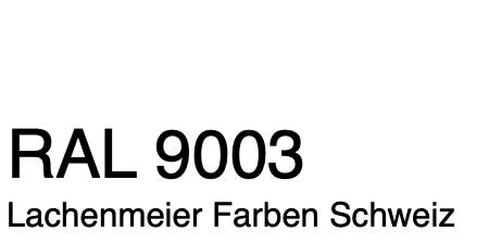 Farbkarte Norm Ral Karte Classic K6 Ral 9003 Signalweiss A4 Einzelbogen Original