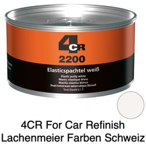 4CR 2200 Spachtel Polyester Elasticspachtel Weiss mit Haube