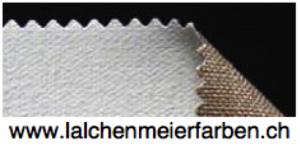 Leinwand L17 Reinleinen Gesso / Halb-Kreidegrund grobe Struktur 584gr 315cm per m2