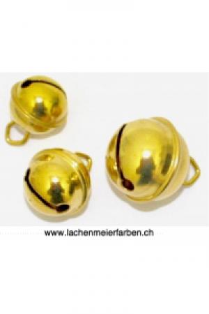 Fasnacht Glöckli / Gleggli Gold Messing 19mm /einzeln