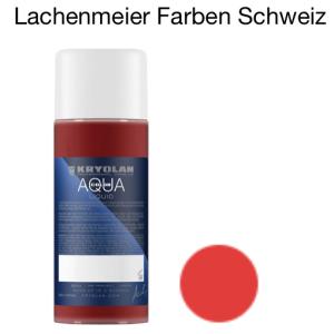 Kryolan Aquacolor Liquid 032 Rot-Orange Schminke für Bodypainting und Fasnacht