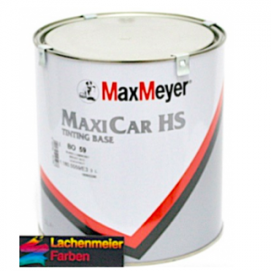 MM Maxicar HS Tintig Base BO 00 Transparent Tinter