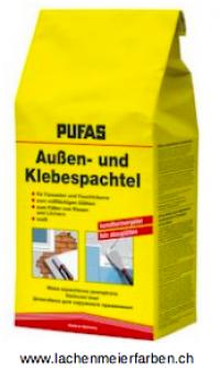 Pufas Aussen + Klebespachtel Füllstoff Zementbasis