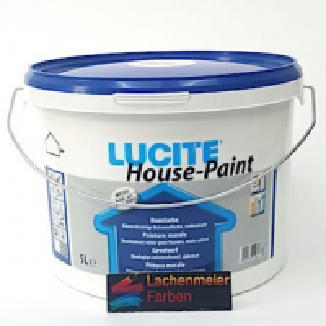 Lucite Hausfarbe A Weiss 1000 T Fassadenfarbe Reinacrylat