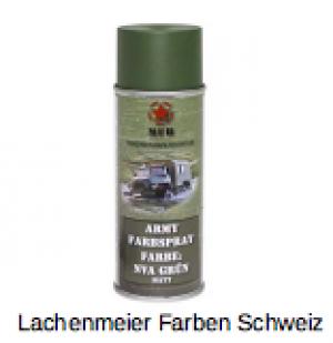 Army Farben Spray Matt S1 NVA Grün Armeegrün DDR