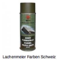 Army Farben Spray Matt S1 Grün Olivgrün