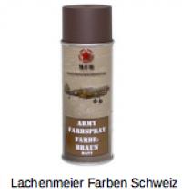 Army Farben Spray Matt S1 Braun