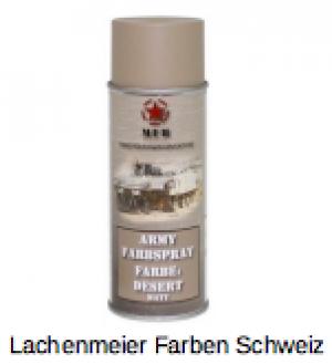 Army Farben Spray Matt S1 Desert Wüstenfarbton