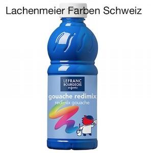 L+B Color + Co Redimix Gouache flüssig S1 063 Primär Blau