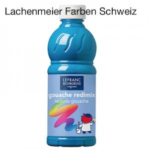 L+B Color + Co Redimix Gouache flüssig S1 050 Türkisblau