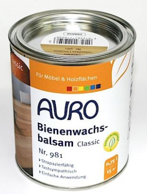 Auro natural paints 981 Liquid wax