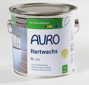 Auro natural paints 171 Hard wax