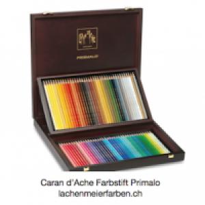 Caran d'Ache Farbstift Prismalo Set Holzkoffer 80 Farben