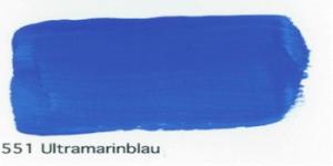 Profi gouache 552 ultramarine blue artist decorative paint WB