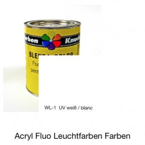 Blenda-Color Acryl Fluo WL-0 Farblos UV reflektierende Leuchtfarbe